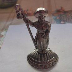 Antigüedades: FIGURA RECUERDO DE SANTIAGO. Lote 228204010