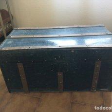 Antigüedades: BAÚL ANTIGUO Y PRECIOSO 76X33 CM. Lote 228265055