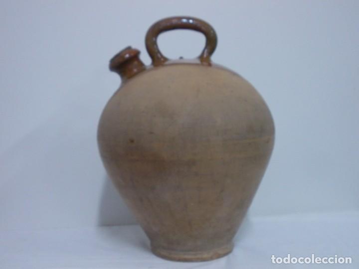 Antigüedades: GRANDIOSO CANTARO CATALAN BARRO COCIDO- MEDIDA-BOTIJO-DOLL- - Foto 17 - 228277560