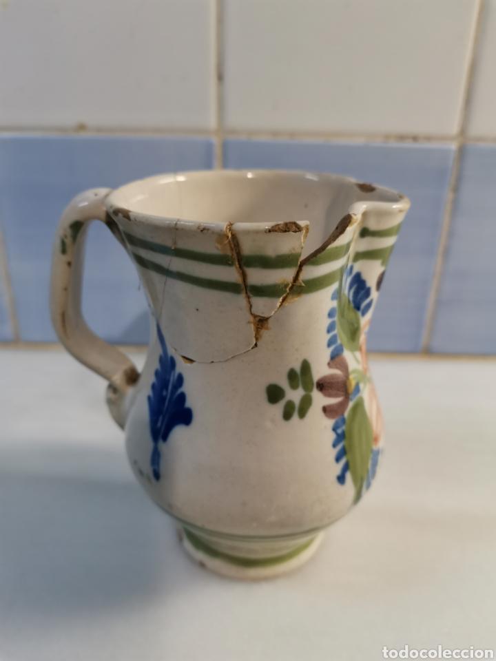 Antigüedades: Pequeña jarra xix - Foto 2 - 228279260