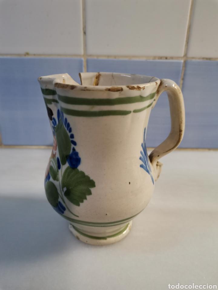Antigüedades: Pequeña jarra xix - Foto 3 - 228279260