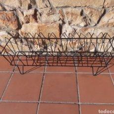 Antigüedades: JARDINERA DE METAL - REJA - MACETERO. Lote 228323210