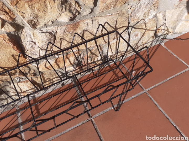 Antigüedades: JARDINERA DE METAL - REJA - MACETERO - Foto 3 - 228324258