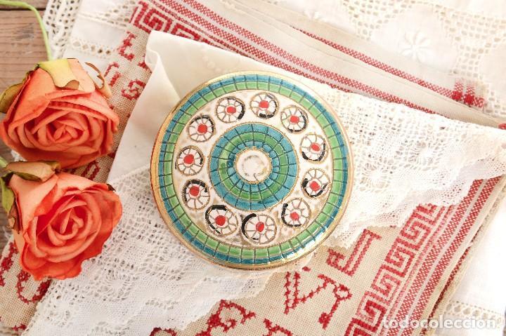 Antigüedades: Caja de ceramica vintage italiana de Sambuco Mario & Co - Foto 2 - 228346125