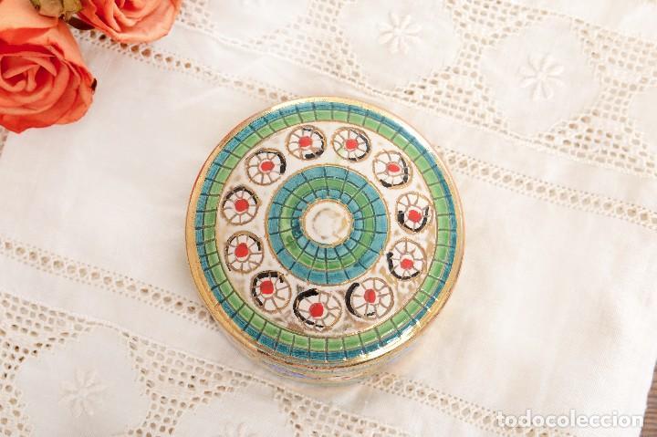Antigüedades: Caja de ceramica vintage italiana de Sambuco Mario & Co - Foto 3 - 228346125