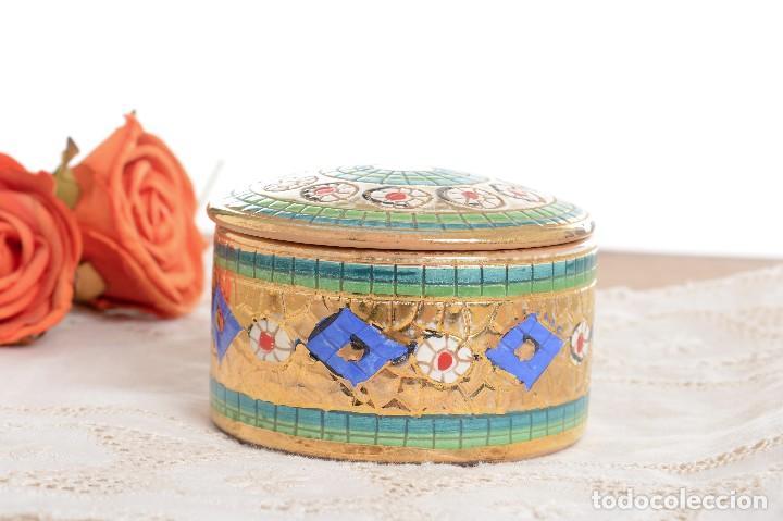 Antigüedades: Caja de ceramica vintage italiana de Sambuco Mario & Co - Foto 4 - 228346125