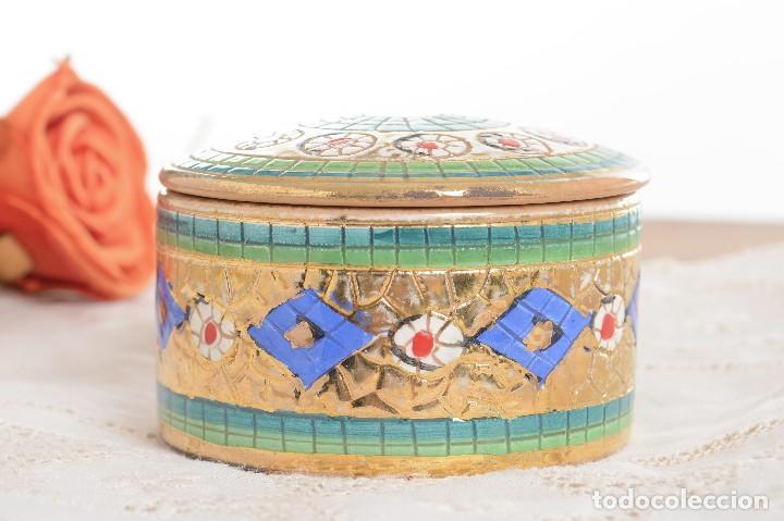 Antigüedades: Caja de ceramica vintage italiana de Sambuco Mario & Co - Foto 5 - 228346125
