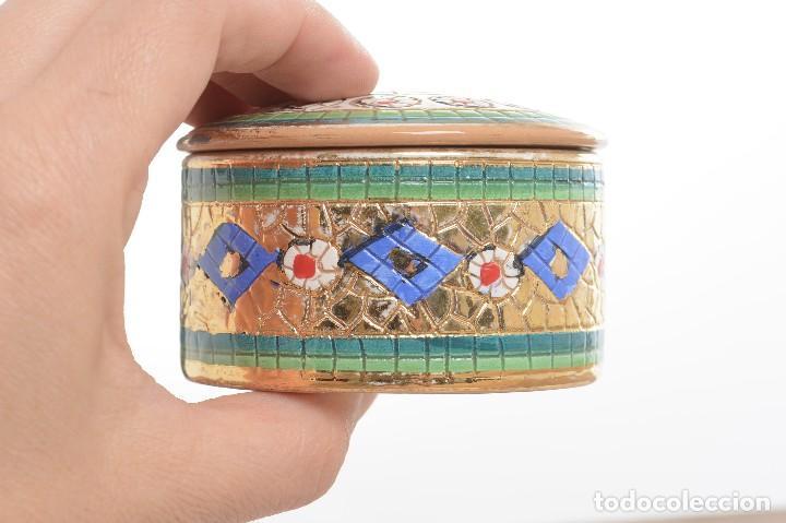 Antigüedades: Caja de ceramica vintage italiana de Sambuco Mario & Co - Foto 6 - 228346125