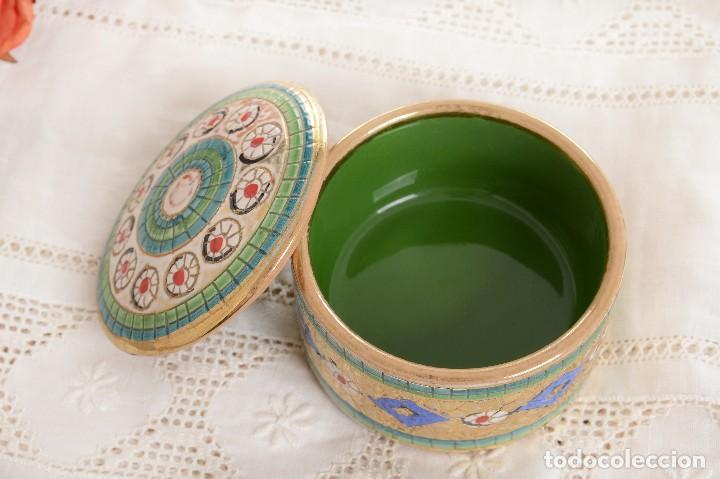 Antigüedades: Caja de ceramica vintage italiana de Sambuco Mario & Co - Foto 9 - 228346125