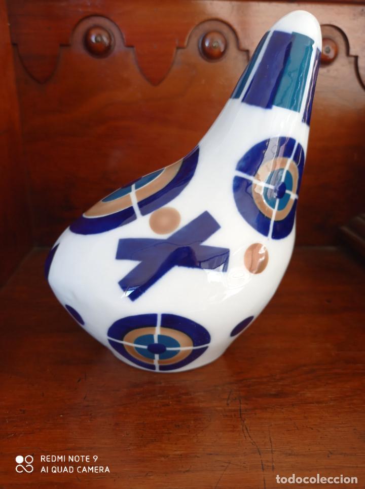 GALLINA DE SARGADELOS, DE 16 X 10 X 13 CMS. VER FOTOS (Antigüedades - Porcelanas y Cerámicas - Sargadelos)