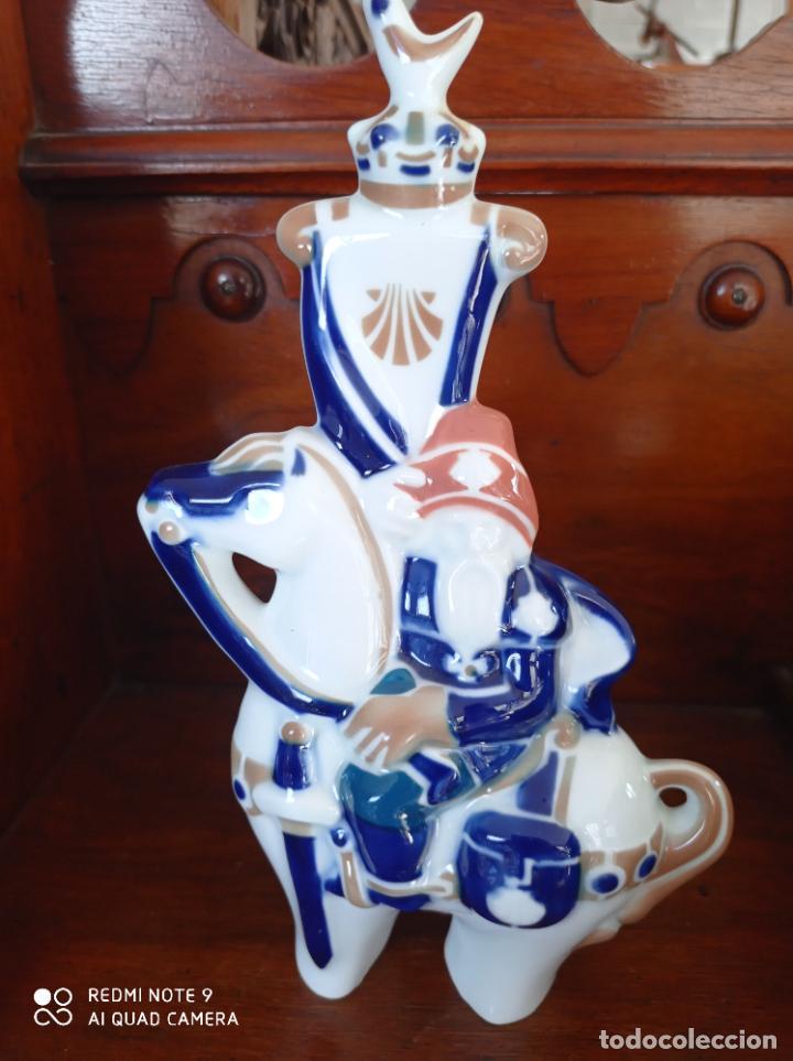 PEREGRINO Nº 5 DUQUE DE AQUITANIA, DE SARGADELOS. 22 CMS DE ALTO. VER FOTOS (Antigüedades - Porcelanas y Cerámicas - Sargadelos)