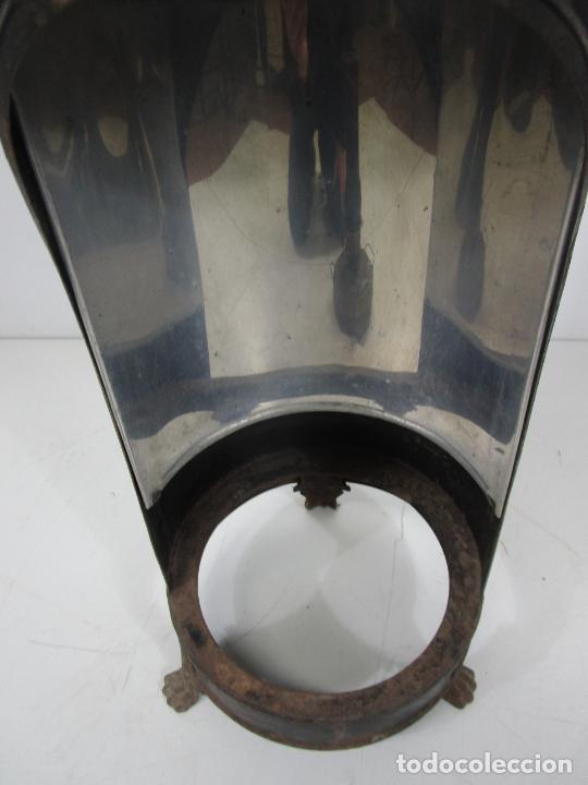 Antigüedades: Decorativa Estufa de Petróleo Antigua - Marca Sepulchre - S.XIX - Foto 9 - 228423865