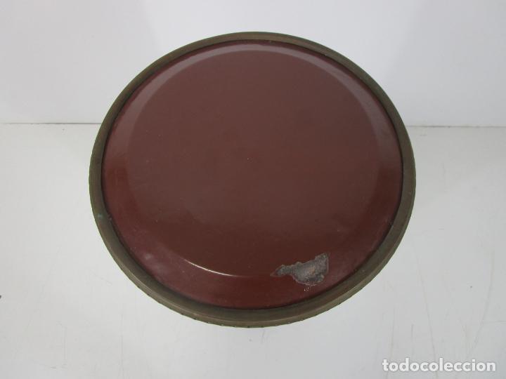 Antigüedades: Decorativa Estufa de Petróleo Antigua - Marca Sepulchre - S.XIX - Foto 21 - 228423865