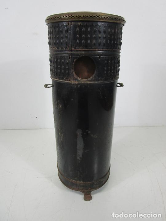 Antigüedades: Decorativa Estufa de Petróleo Antigua - Marca Sepulchre - S.XIX - Foto 26 - 228423865