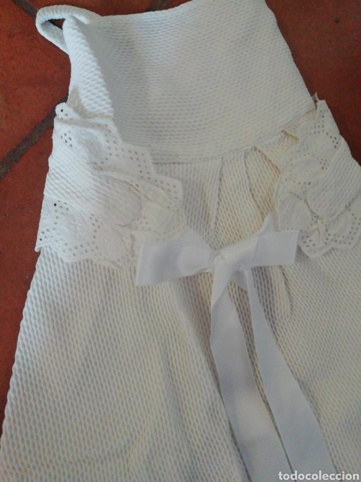 Antigüedades: Vestidito de bebé años 40 - Foto 2 - 228431940