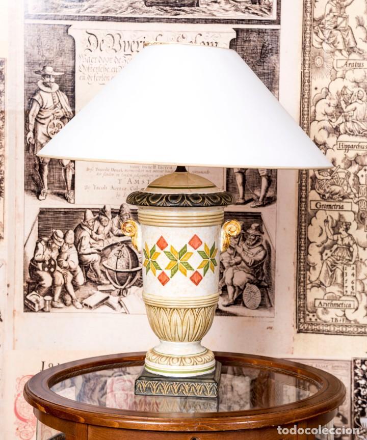 Antigüedades: Lámpara De Sobremesa Benlloch - Foto 3 - 228458180