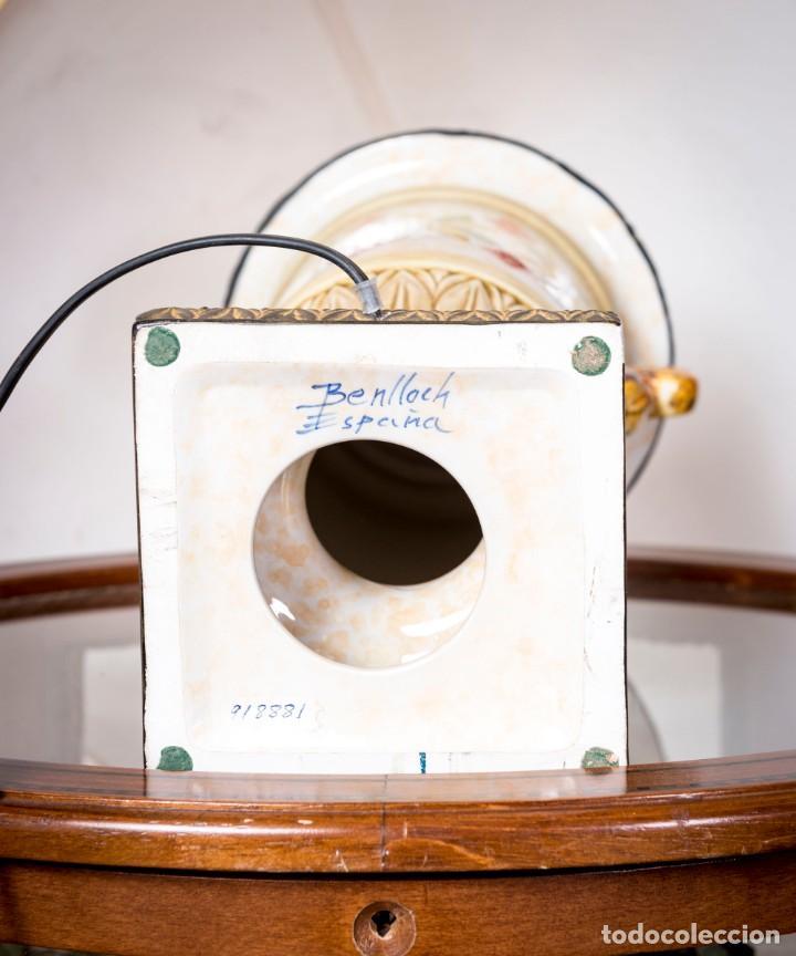 Antigüedades: Lámpara De Sobremesa Benlloch - Foto 4 - 228458180