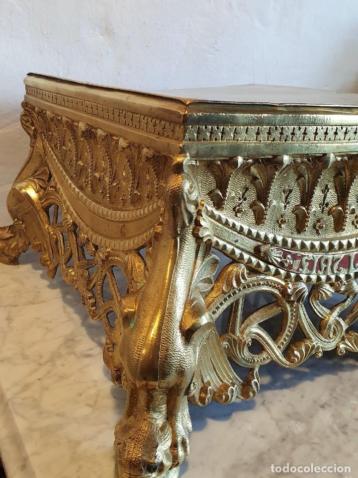 Antigüedades: PEANA DE BRONCE - Foto 3 - 228490196