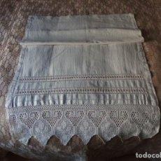 Antigüedades: CORTINA DE HILO. Lote 228494620