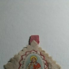Antigüedades: DETENTE EL CORAZÓN DE JESÚS ESTÁ CONMIGO.. Lote 228511561