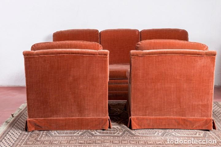 Antigüedades: Pareja De Sillones Vintage Caldero - Foto 3 - 228558920