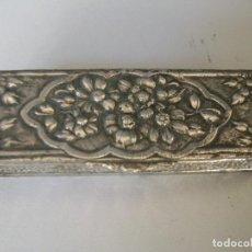 Antigüedades: CAJITA DE PLATA - MODERNISTA. Lote 228572120