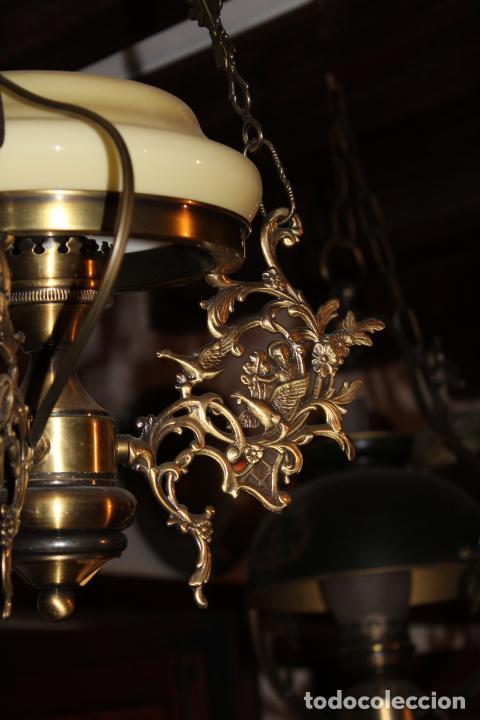 Antigüedades: lampara quigue de techo - Foto 2 - 228573055