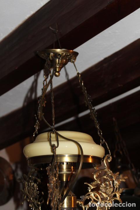 Antigüedades: lampara quigue de techo - Foto 3 - 228573055