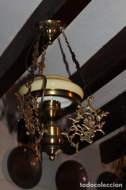 LAMPARA QUIGUE DE TECHO (Antigüedades - Iluminación - Lámparas Antiguas)