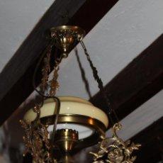 Antigüedades: LAMPARA QUIGUE DE TECHO. Lote 228573055