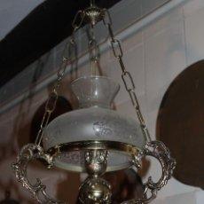 Antigüedades: LAMPARA QUIGUE DE TECHO. Lote 228573165