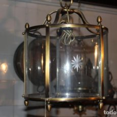 Antigüedades: FAROL DE TECHO REDONDO. Lote 228573715