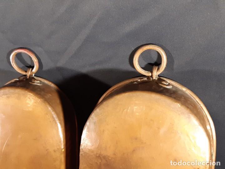 Antigüedades: Tres palanganas. Cobre. Siglo XX. - Foto 3 - 228573900