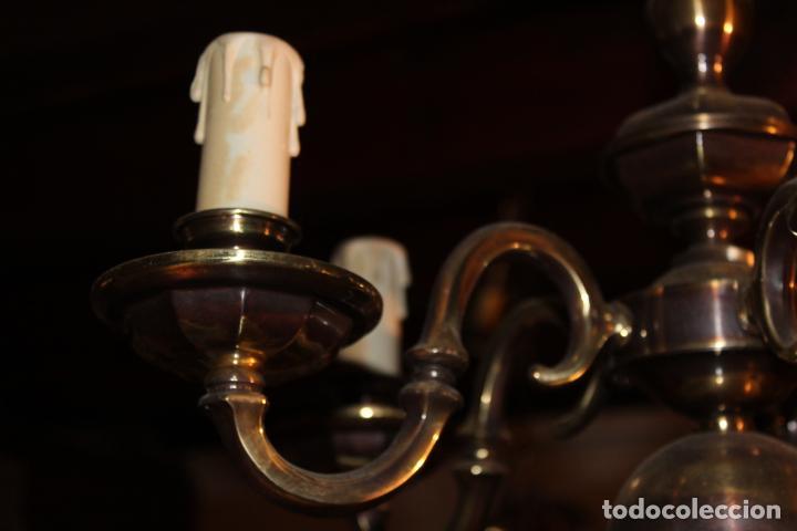 Antigüedades: lampata de techo tipo holandesa - Foto 4 - 228579102