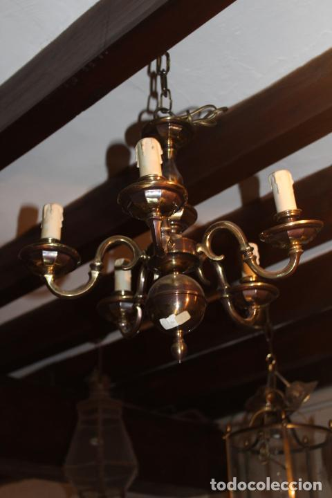 LAMPATA DE TECHO TIPO HOLANDESA (Antigüedades - Iluminación - Lámparas Antiguas)
