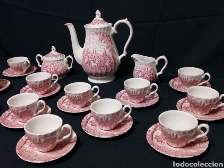 Antigüedades: Juego de café - MYOTT ROYAL MAIL, Fine Staffordshire Ware, Made in England - 12 servicios, 27 piezas - Foto 4 - 228601915