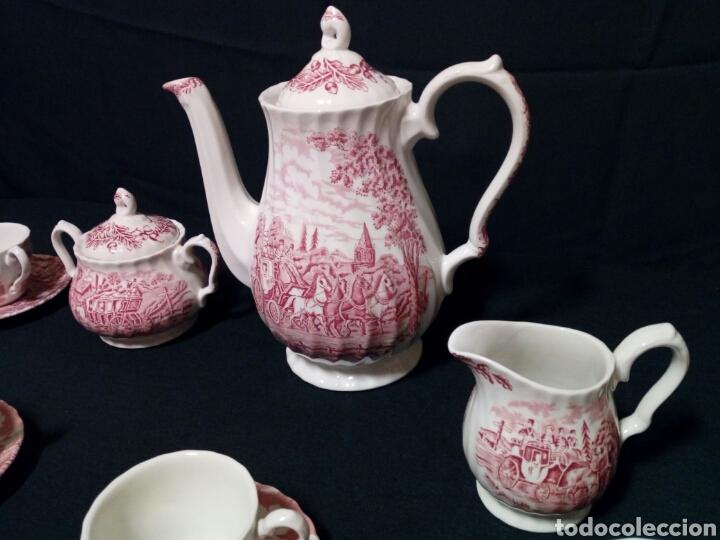 Antigüedades: Juego de café - MYOTT ROYAL MAIL, Fine Staffordshire Ware, Made in England - 12 servicios, 27 piezas - Foto 7 - 228601915