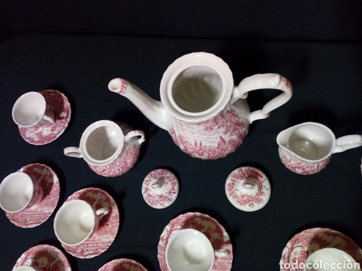 Antigüedades: Juego de café - MYOTT ROYAL MAIL, Fine Staffordshire Ware, Made in England - 12 servicios, 27 piezas - Foto 8 - 228601915