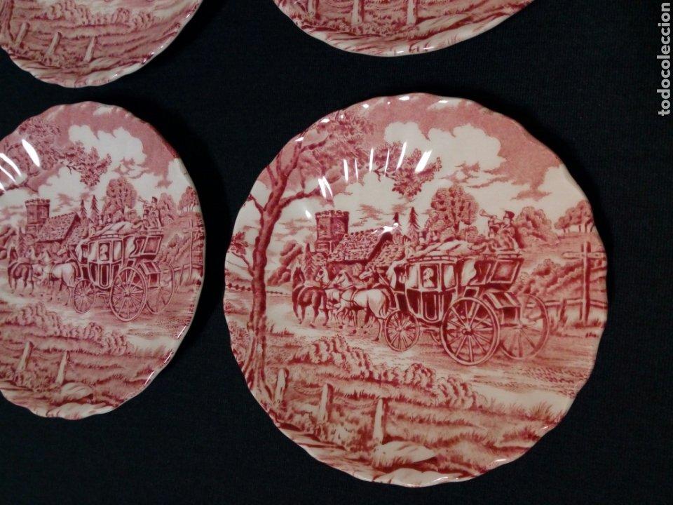 Antigüedades: Juego de café - MYOTT ROYAL MAIL, Fine Staffordshire Ware, Made in England - 12 servicios, 27 piezas - Foto 11 - 228601915