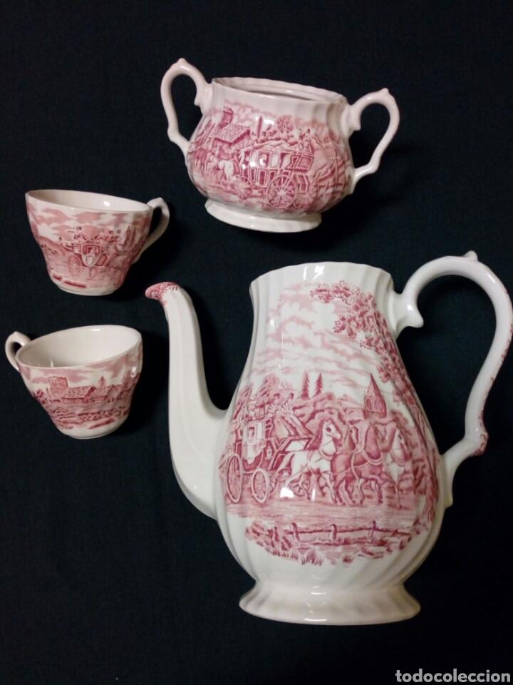 Antigüedades: Juego de café - MYOTT ROYAL MAIL, Fine Staffordshire Ware, Made in England - 12 servicios, 27 piezas - Foto 12 - 228601915