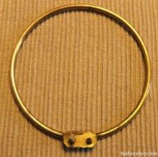 Antigüedades: ANTIGUO ARO O CORONA PARA IMAGEN DE SANTO, VIRGEN DE 8 CMS. Lote 228628955