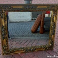 Antigüedades: ESPEJO ANTIGUO ESTILO ROCOCO. Lote 228640455