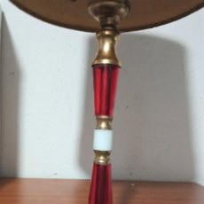 Antigüedades: LAMPARA ANTIGUA O VINTAGE PIE DE MARMOL. Lote 228643225