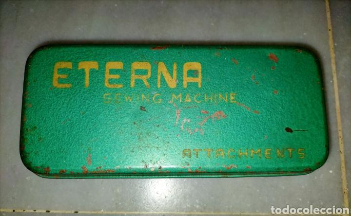 Antigüedades: Caja SEWING MACHINE - Foto 4 - 228662840