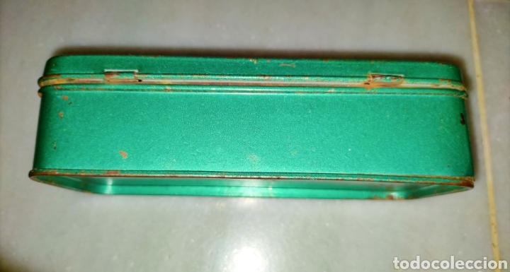 Antigüedades: Caja SEWING MACHINE - Foto 7 - 228662840