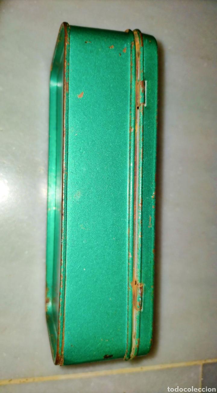 Antigüedades: Caja SEWING MACHINE - Foto 8 - 228662840