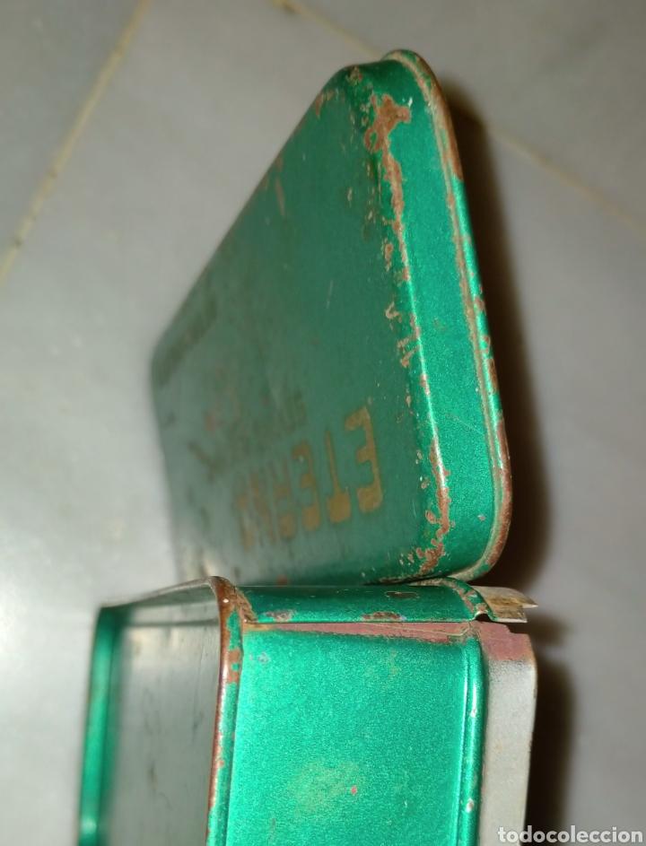 Antigüedades: Caja SEWING MACHINE - Foto 9 - 228662840
