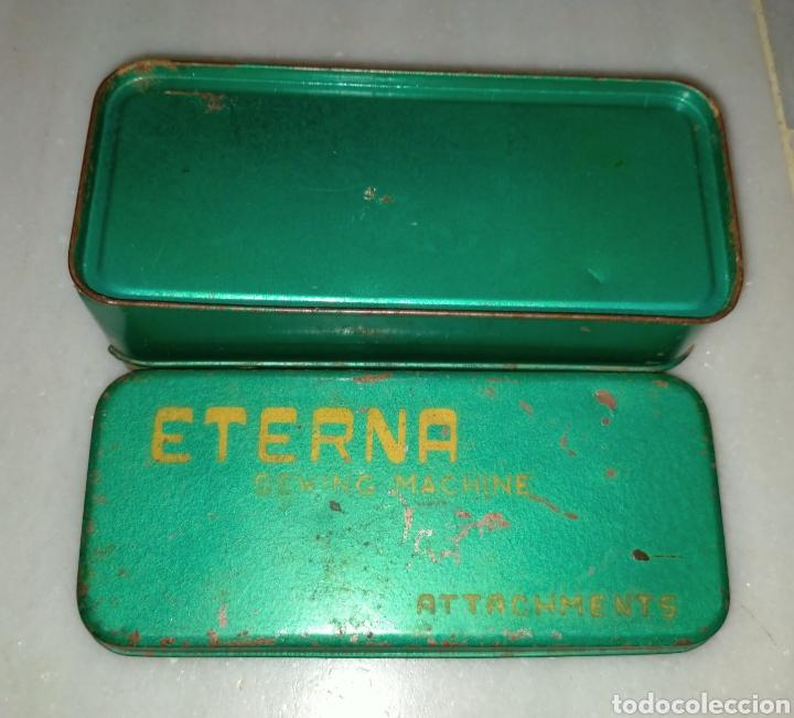Antigüedades: Caja SEWING MACHINE - Foto 11 - 228662840