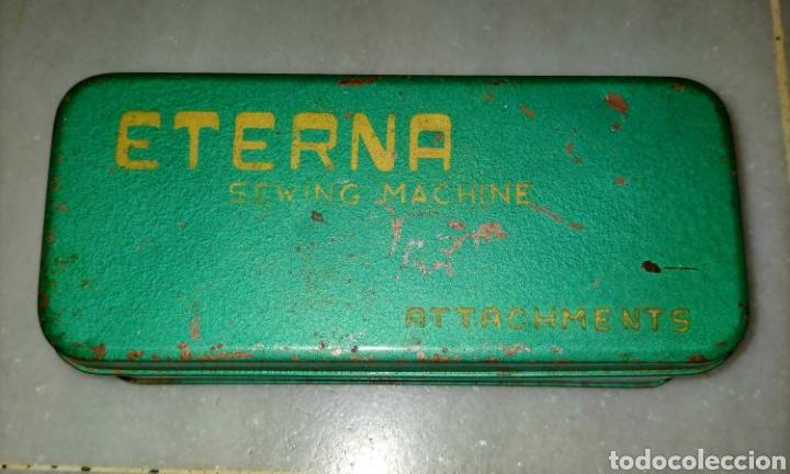 Antigüedades: Caja SEWING MACHINE - Foto 15 - 228662840