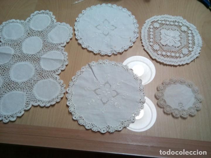 * ANTUGUOS TAPETES DE EJCUCION MANUAL (RF: 276/*) (Antigüedades - Hogar y Decoración - Tapetes Antiguos)